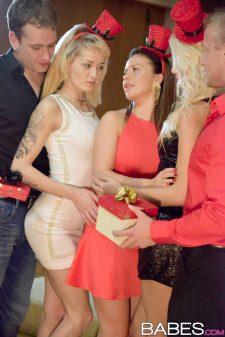 Karol Lilien and Adele Sunshine with Bella Anne