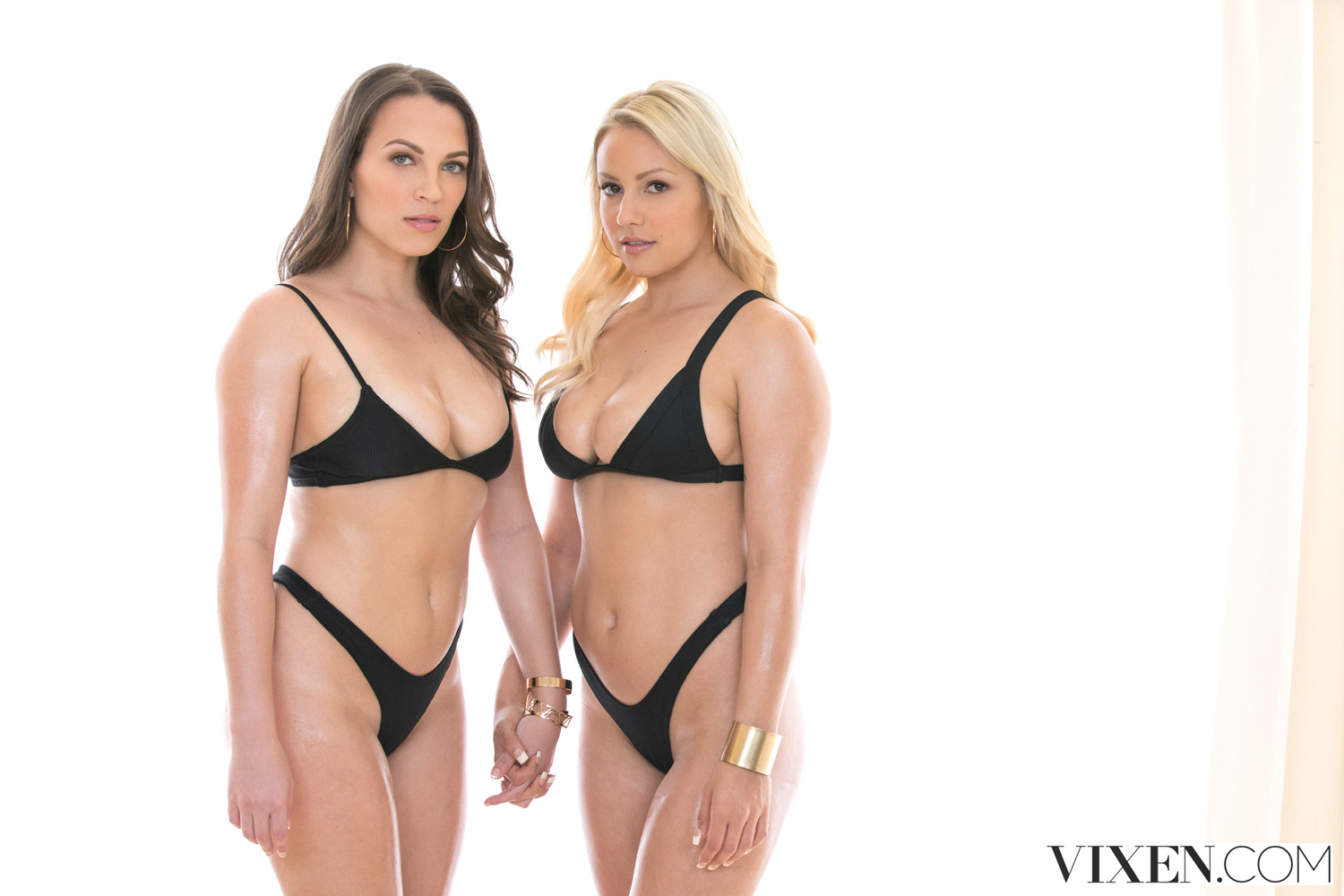 Lily Love and Kylie Page